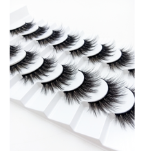 8 Pairs 3D Mink Lashes Natural/Thick Long Eyelashes Wispy Makeup Beauty Extension Tools
