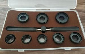 Image 1 - Case Opening Die Set with Handle for Rx Watch Cases with 8 Die Sizes