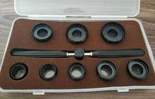 Juego de troqueles de apertura de caja con asa para cajas de reloj Rx, con 8 tamaños de troquel