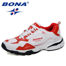 BONA 2019 New Arrival New Style Running Shoes Men Sneakers O