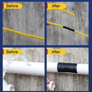 Image 5 - Super Starke Wasserdichte Stop Lecks Reparatur Band Wasserdicht Klebstoff Wasser Rohr Klebeband PVC Starke Pipeline Dichtung Reparatur Band