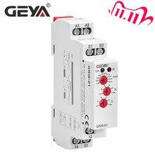 GEYA GRI8 relé de corriente, rango de monitoreo, interruptor de subcorriente de sobrecorriente, 0.05A 16A, AC24 240V o DC24V