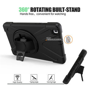 Image 3 - Case For samsung galaxy tab A 8.0 2019 SM T290 SM T295 T290 T295 T297 Cover Funda Shockproof Heavy Duty With Wrist Straps