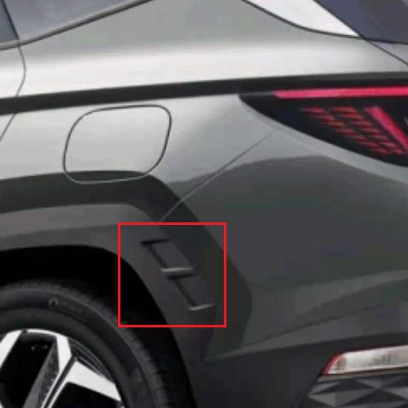 Переднее и заднее колесо ABS, обшивка боковой крышки, обшивка формы, внешние аксессуары для автомобиля для Hyundai Tucson NX4 otali.ru 2022