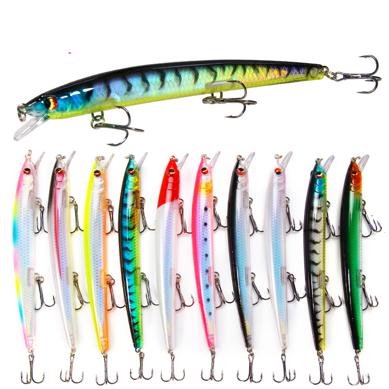 1PCS Classic Wobblers 13.5cm/15.4g Minnow Fishing Lures Flying Fish Long Shot Plastic Hard Crankbait Carp Pike Fishing Tackle|Fishing Lures| - AliExpress