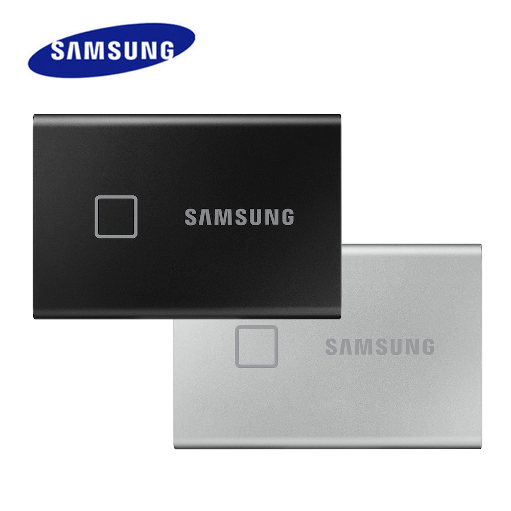 Samsung Portable SSD T7 Touch Interface Solid State Drive 2TB 1TB 500GB Type C USB3.2 Gen2 External PSSD for PC&Loptop|External Solid State Drives| - AliExpress