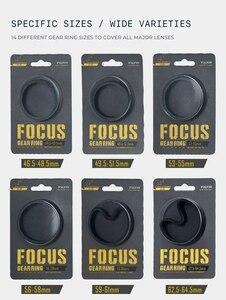 Image 2 - Tiltaing Seamless Focus Gear Ring 360 ° Rotation Silent Follow Focus Ring For SLR DSLR Camera Accessories Tilta TA FGR