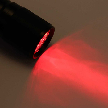 GM Cheap 625nm Red LED Flashlight Redsight 3W LED Red Light Portable Mini Latern For Vein Finder And Reading Astronomy Star Maps image