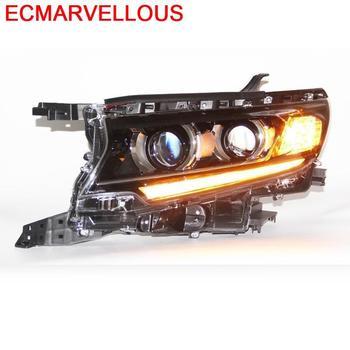 Lámpara Exterior de automóvil, Luces Neblineros Para Auto Drl, faros Led, montaje de Luces de coche antiniebla delanteras, 18 Para Toyota Prado