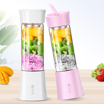 Portable Blender USB Mixer Electric Juicer Machine Smoothie Blender Mini Food Processor Personal Lemon Squeezer Orange Juicer 1
