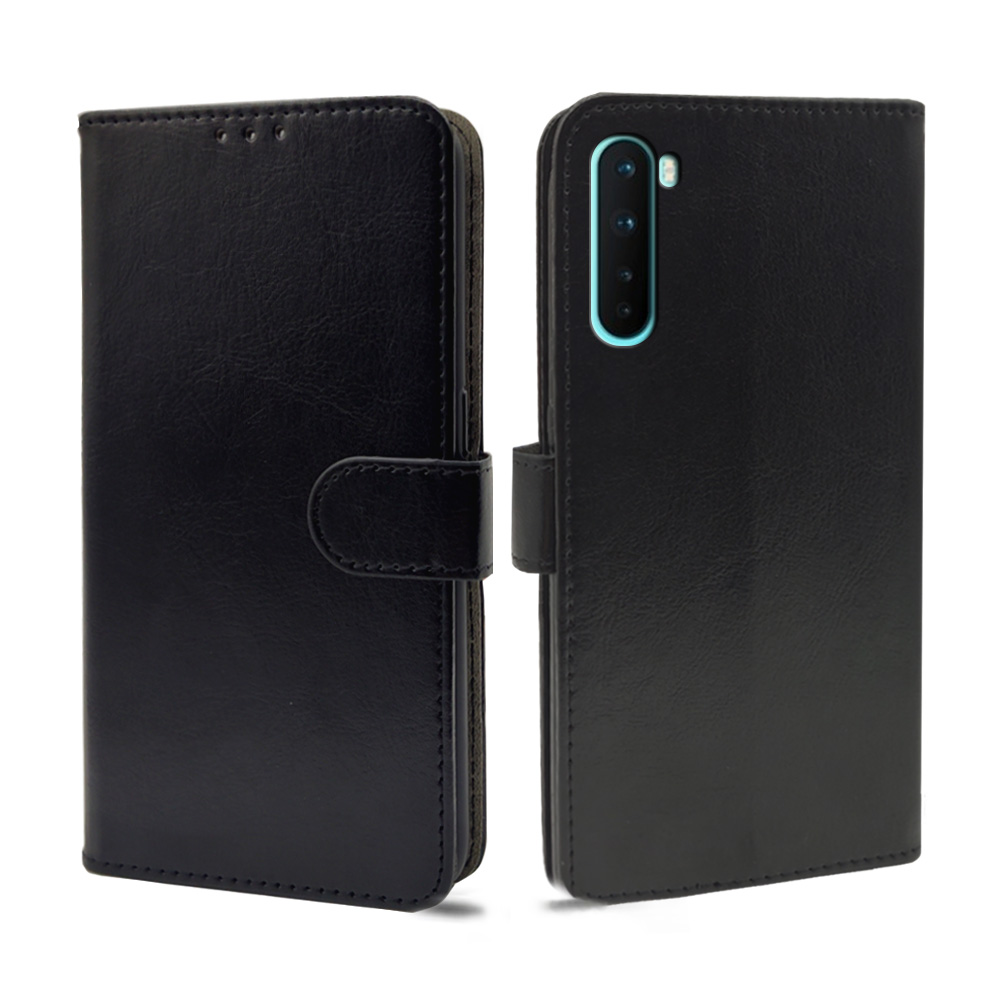 Luxury Case For OnePlus Nord Case Flip leather Wallet Card Slot silicone For OnePlus Nord Cover Phone bag