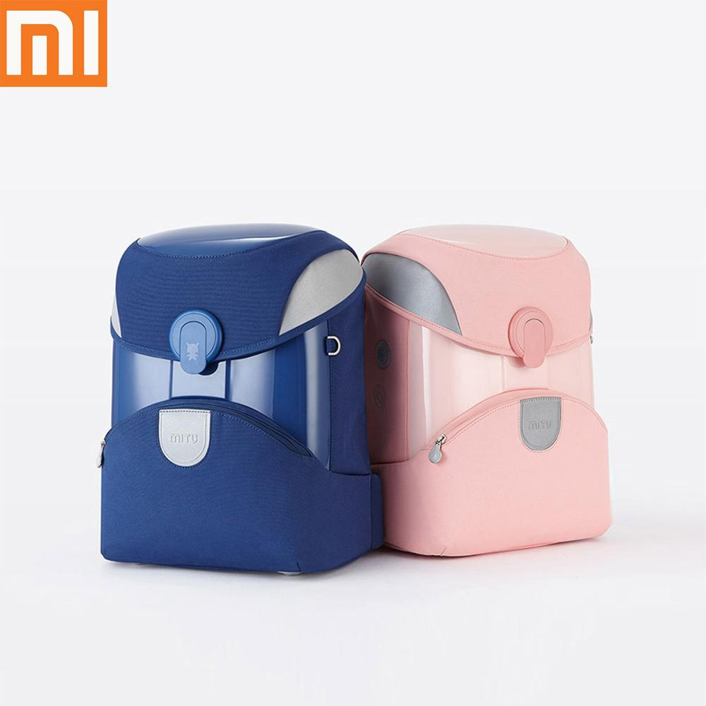Original Xiaomi Mitu Kids Backpack 2 Students Children Backpack School Bag School EVA Material Knapsack Simple Shoulder Bag 14L