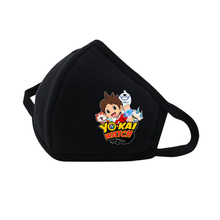 Game anime Youkai Watch masks Mouth Face Mask Dustproof Breathable Protective Cover Masks Reusable Respiratory Care mask