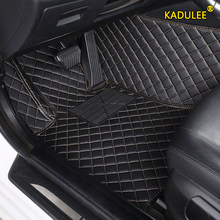 KADULEE tappetino per Auto personalizzato per Subaru XV BRZ Forester Outback Impreza Legacy Car volante sinistro Auto interni tappetino S