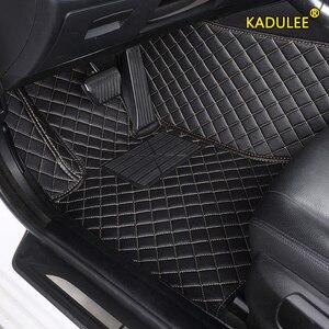 KADULEE Custom Car floor Mat For Subaru XV BRZ Forester Outback Impreza Legacy Car left steering wheel Auto Interior FOOT MATS