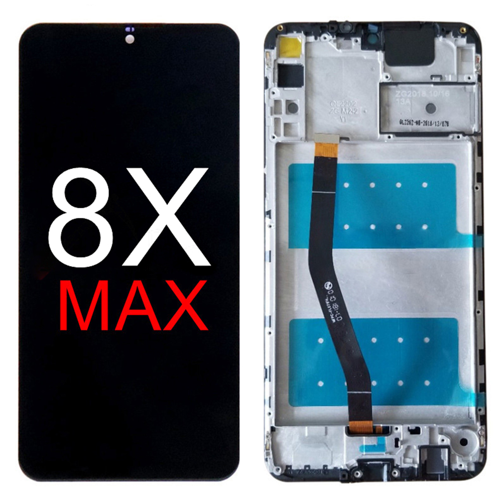Free Tools For Huawei <font><b>Honor</b></font> <font><b>8X</b></font> Max Full Touch Screen Digitizer <font><b>LCD</b></font> Display Assembly Replacement Parts For Huawei 8 X Max image