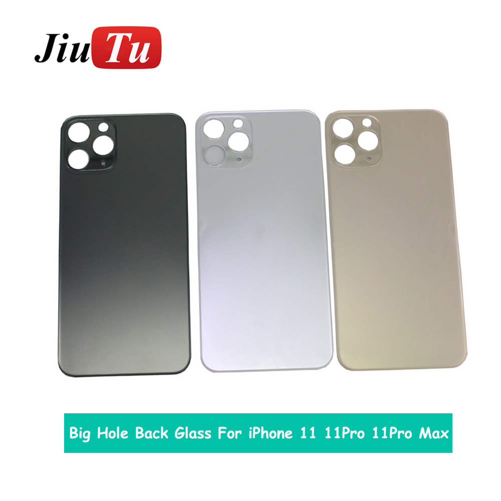 Back Cover Glass Rear Housing For iPhone X 8 Plus XS XSMAX Rear Door Body Assemble Housing with big hole (5)