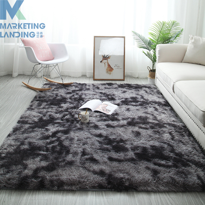 Plush Carpets For Living Room Soft Fluffy Home Decor Shaggy Carpet Bedroom Sofa Coffee Table Floor Mat Cloakroom Rugs Doormat