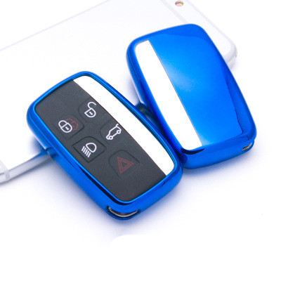 TPU Elegant Car Key Cover Key Case Bag For Land Rover RANGE ROVER SPORT Freelander 2 DISCOVERY 4 Evoque Key Chain Car Styling