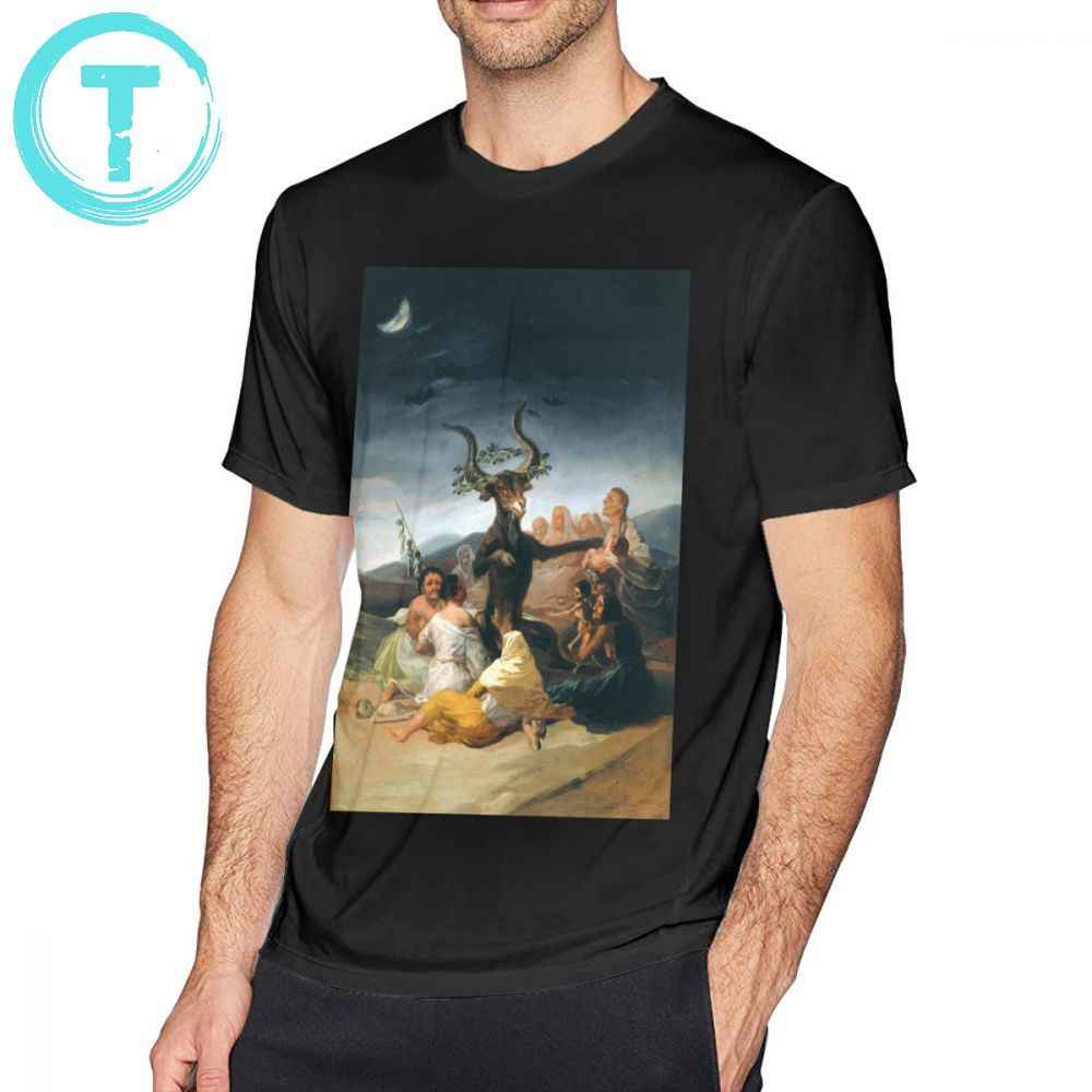 Goya T Shirt The Coven - Goya T-Shirt 4xl Printed Tee Shirt Summer 100 Percent Cotton Fun Short Sleeve Man Tshirt