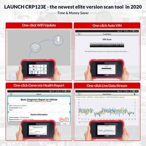 Image 5 - Lançamento x431 crp123e obd2 eng abs airbag srs na ferramenta de diagnóstico automático leitor de código leitor 123e obdii eobd scanner bom do que crp123