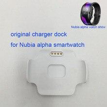 2020 חדש מקורי מטען טעינת dock מטענים עבור נוביה אלפא חכם שעון טלפון שעון עבור חדש נוביה שעון smartwatch SW1002
