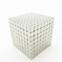 цена на 5mm 216pcs/set 512pcs/set 1000pcs/set With Metal Box New Metaballs Neodymium Magnetic balls Neo Cube Puzzle magnet