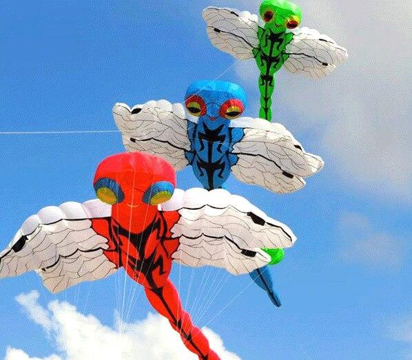 Nouveau grand cerf-volant gonflable libellule cerf-volant festival
