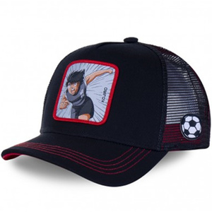 Brand DRAGON BALL Captain Tsubasa Snapback Cap Cotton Baseball Cap Men Women Hip Hop Dad Mesh Hat Trucker Dropshipping(China)