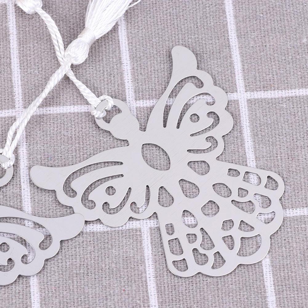 Holy Guardian ANGEL Alloy Bookmark Tassels Stationary Wedding Christening Gift Q9V9