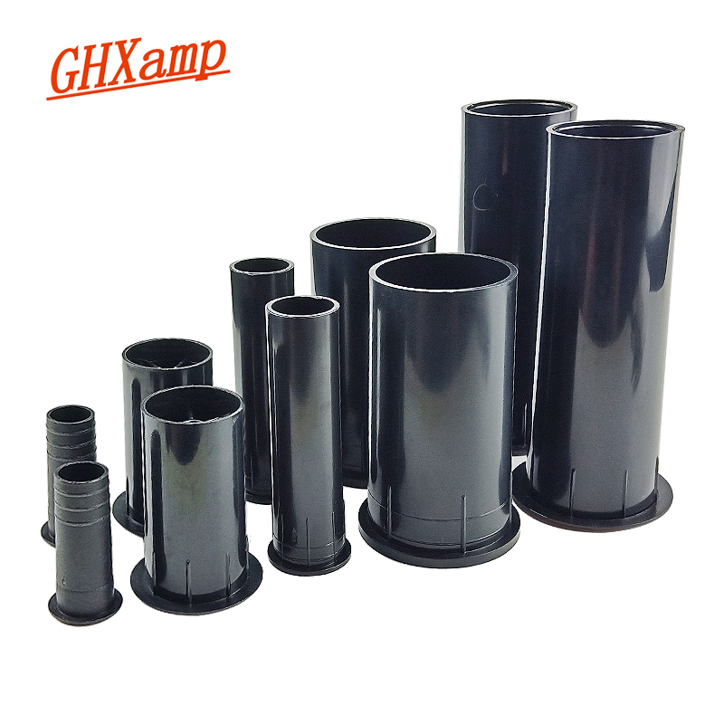GHXAMP Speaker Tube-Port Inverted Subwoofer 2inch 2PCS Guide-Tube Auxiliary-Bass ABS