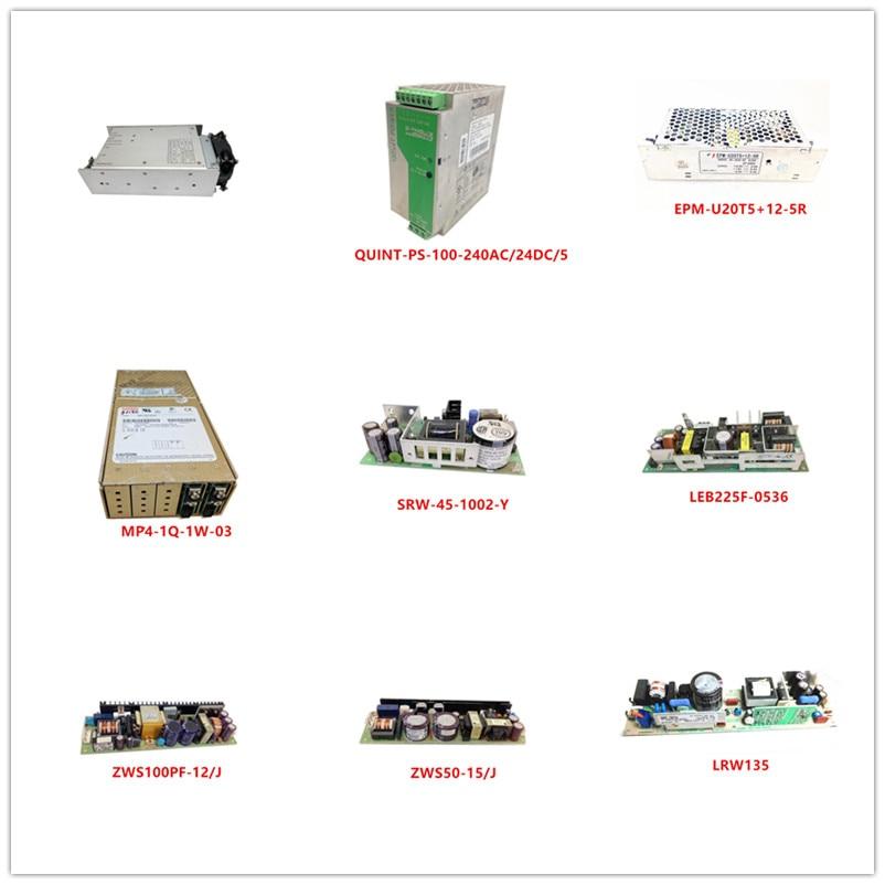 NSI-32A(S.T.W) QUINT-PS-100-240AC/24DC/5 EPM-U20T5+12-5R MP4-1Q-1W-03 SRW-45-1002-Y LEB225F-0536 ZWS100PF-12/J ZWS50-15/J LRW135