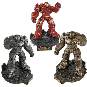 32CM 3 Colour Avengers Hulkbuster with Base Figurine Dolls Toys Resin Statue Bust Action Figure Collectible Model Toy Gift