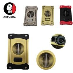 Guevara Cigar Thép Không Gỉ Sắc Bén Máy Chém Cho Không Đổ Máu Cắt Có Hộp Làm Quà Tặng