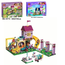 Girl Building Blocks 10540 10774 Compatible Friends Heartlake Lighthouse 41325 Model Toys for Children цена