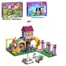 Girl Building Blocks 10540 10774 Compatible Friends Heartlake Lighthouse 41325 Model Toys for Children цена в Москве и Питере