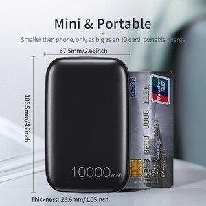 Image 2 - Essager 10000mAh 미니 보조베터리 10000 빠른 충전 3.0 작은 보조베터리 Xiaomi Mi USB C PD 휴대용 외부 배터리 충전기