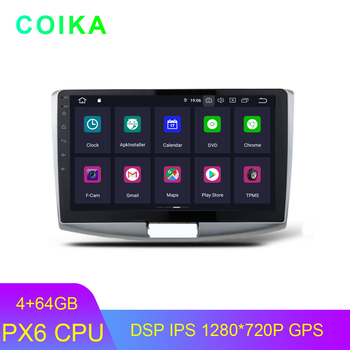 Android 9.0 System Car Tape Recorder For Volkswagen Passat CC B6 B7 4+64G RAM 1280*720P RDS DSP IPS Touch GPS Navi Radio