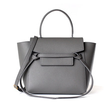 цена на Women Bags Handbags Famous Brands Designers Genuine Leather Small Trapeze Tote Purse Bag for Female Shoulder Crossbody Belt Bags