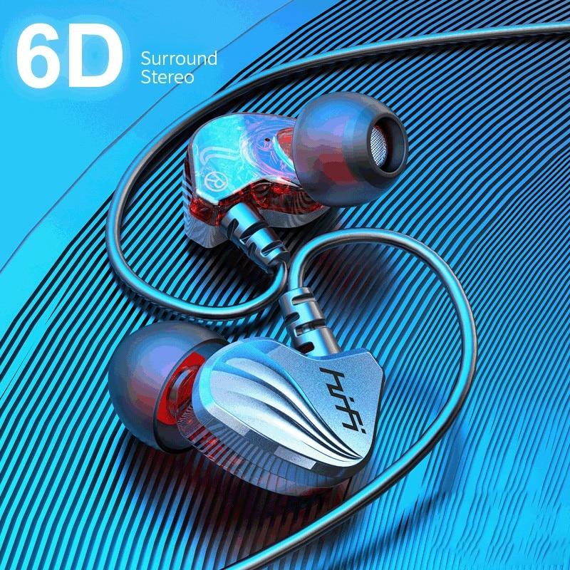 Olhveitra Bass Sport Verdrahtete Kopfhörer Headset Gamer Für iPhone Samsung Xiaomi 3,5mm In-Ohr Stereo Auriculares Ohrhörer Mit mic