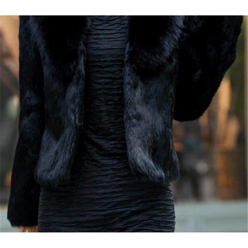 Женские шубы из искусственного меха, большие размеры, короткий параграф, топы, куртка 19, зимняя Новинка, длинный рукав, белый, серый, зеленый, модное пальто из искусственного меха, JD588