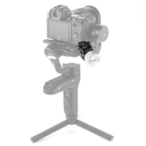 Image 4 - DJI Ronin S/Ronin SC 및 Zhiyun Weebill/Crane 시리즈 Gimbals 2465 용 BMPCC 4K 카메라 카운터 웨이트 장착 클램프 용 SmallRig