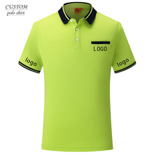 Custom Embroidered  company logo work wear Polo Shirts - Free Logo Setup