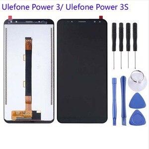 Image 3 - 100% สำหรับ Ulefone Power 3 Power3 จอแสดงผล LCD + หน้าจอสัมผัส Digitizer เปลี่ยนสำหรับ Ulefone Power 3S จอแสดงผล