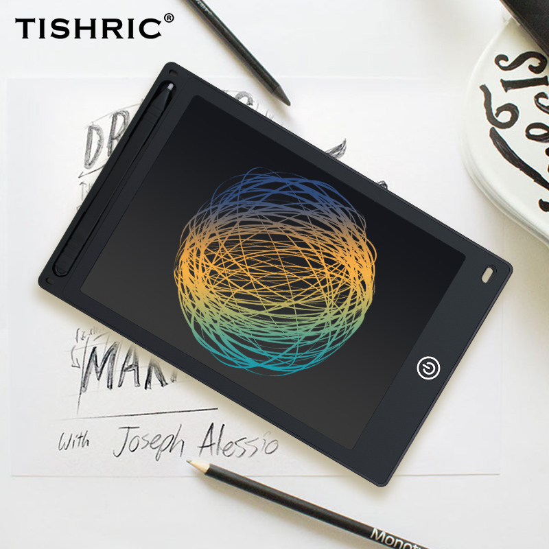 TISHRIC 8.5/10/12 Inch LCD Writing Tablet Graphics Tablet Screen Electronic Digital Drawing Kids Tablet Ultra-thin Graphic Board