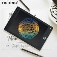TISHRIC 12 Zoll LCD Schreiben Tablet Grafiken Tablet Bildschirm Elektronische Digitale Zeichnung Kinder Tablet Ultra-dünne Grafik Bord