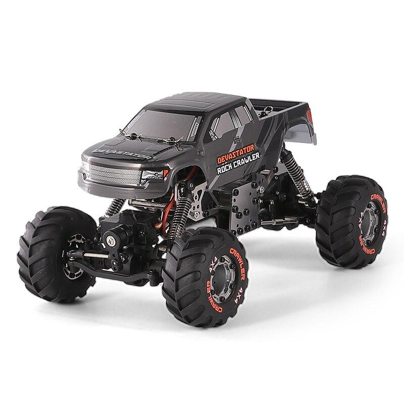 JTY игрушки RC автомобиль 4WD сплав рамка пульт управления автомобилями 2,4G 1:24 монстр грузовик внедорожный альпинистский автомобиль игрушки для детей|Радиоуправляемые автомобили| | АлиЭкспресс