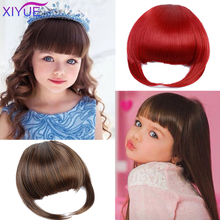 Children's Wigs Can Be Trimmed Fake Bangs False Fringe Clip