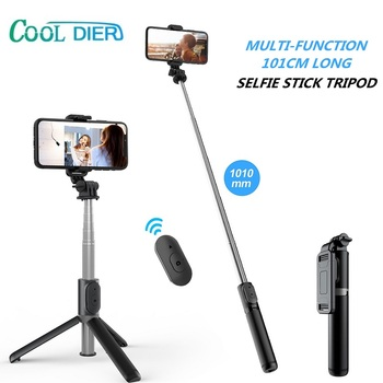 COOL DIER 4 in 1 Bluetooth Wireless Selfie Stick Mini Tripod Extendable Monopod With Remote shutter For Phone For Gopro Cameras 1