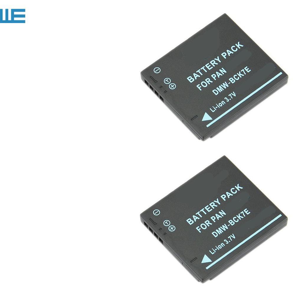 Battery Charger DMW-BCK7//NCA-YN101 USB Panasonic Lumix DMC-S2 DMC-FH27